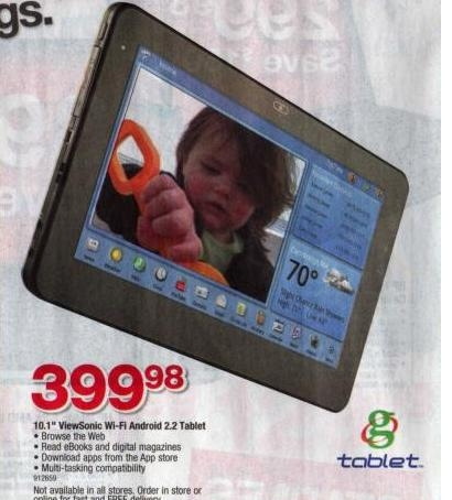 "ViewSonic 10"" G tablet - очередной убийца iPad"