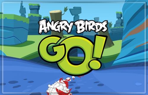 Angry Birds Go: и снова птицы!