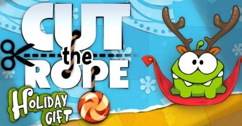Cut the Rope: Holiday Gift — новогодние приключения