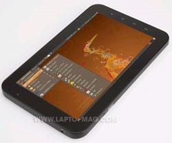 Установлена Ubuntu на Samsung Galaxy Tab
